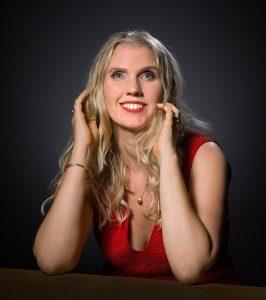 """Sylvia Visser voor verhaal """"Kussen"""""""